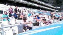 Les images de l'entraînement de l'OM au Vélodrome en public
