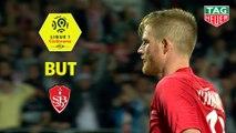 But Gaëtan CHARBONNIER (86ème) / Stade Brestois 29 - Stade de Reims - (1-0) - (BREST-REIMS) / 2019-20