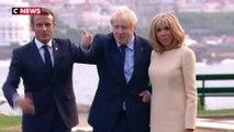 Boris Johnson à l'aise pour son premier G7