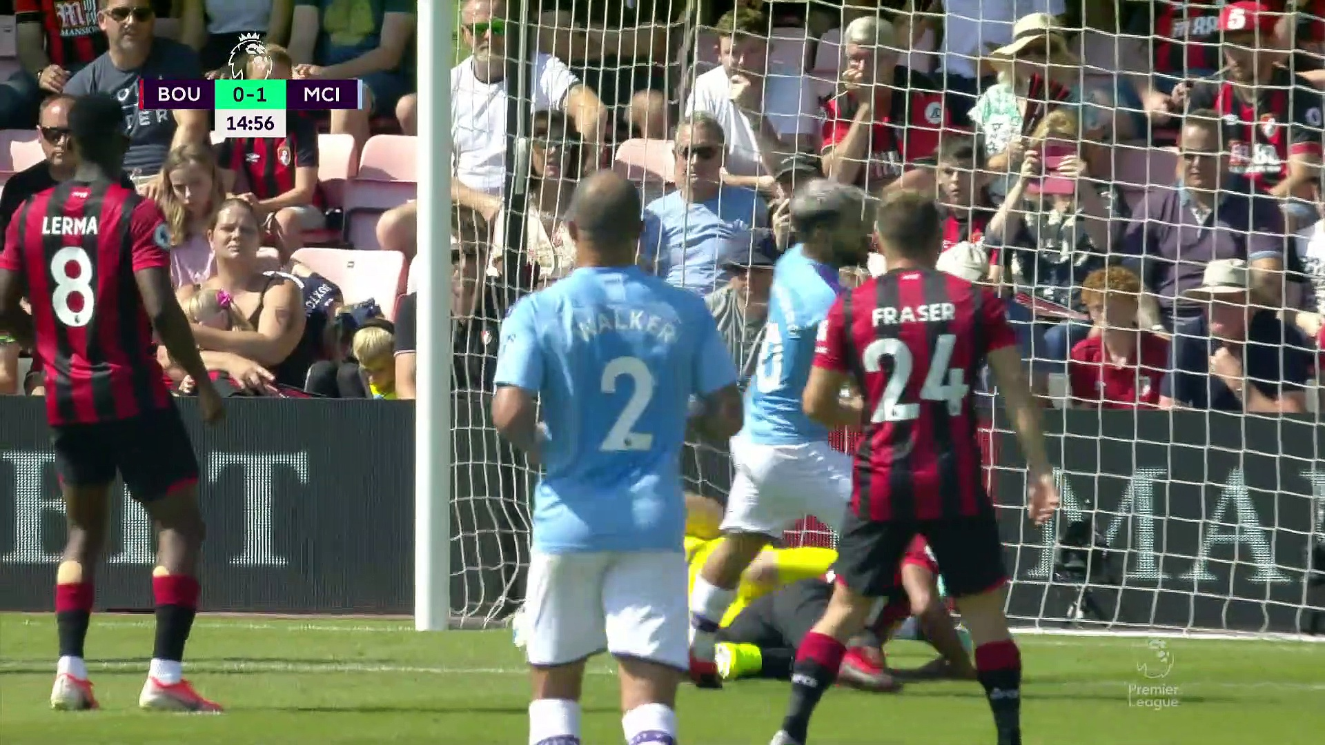 3. Hafta / Bournemouth - Manchester City : 1-3 (Özet)