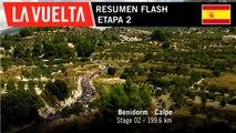 Resumen Flash - Etapa 2 | La Vuelta 19