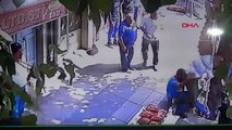 Suriyelilerin kılıç, pala, bıçaklı kavgası kamerada -2