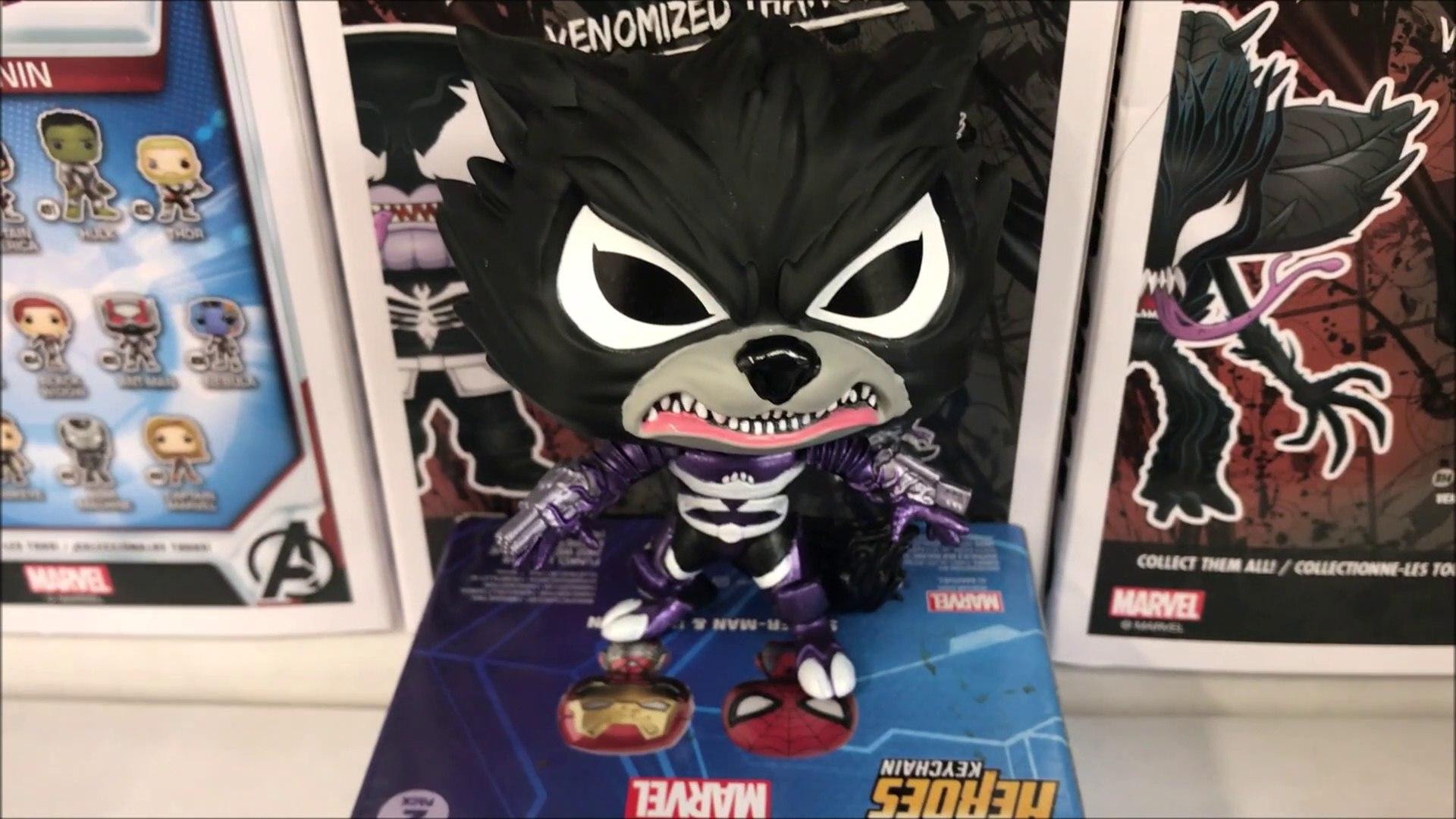 Funko POP Vinyl-Marvel Venom S2-venomized Rocket