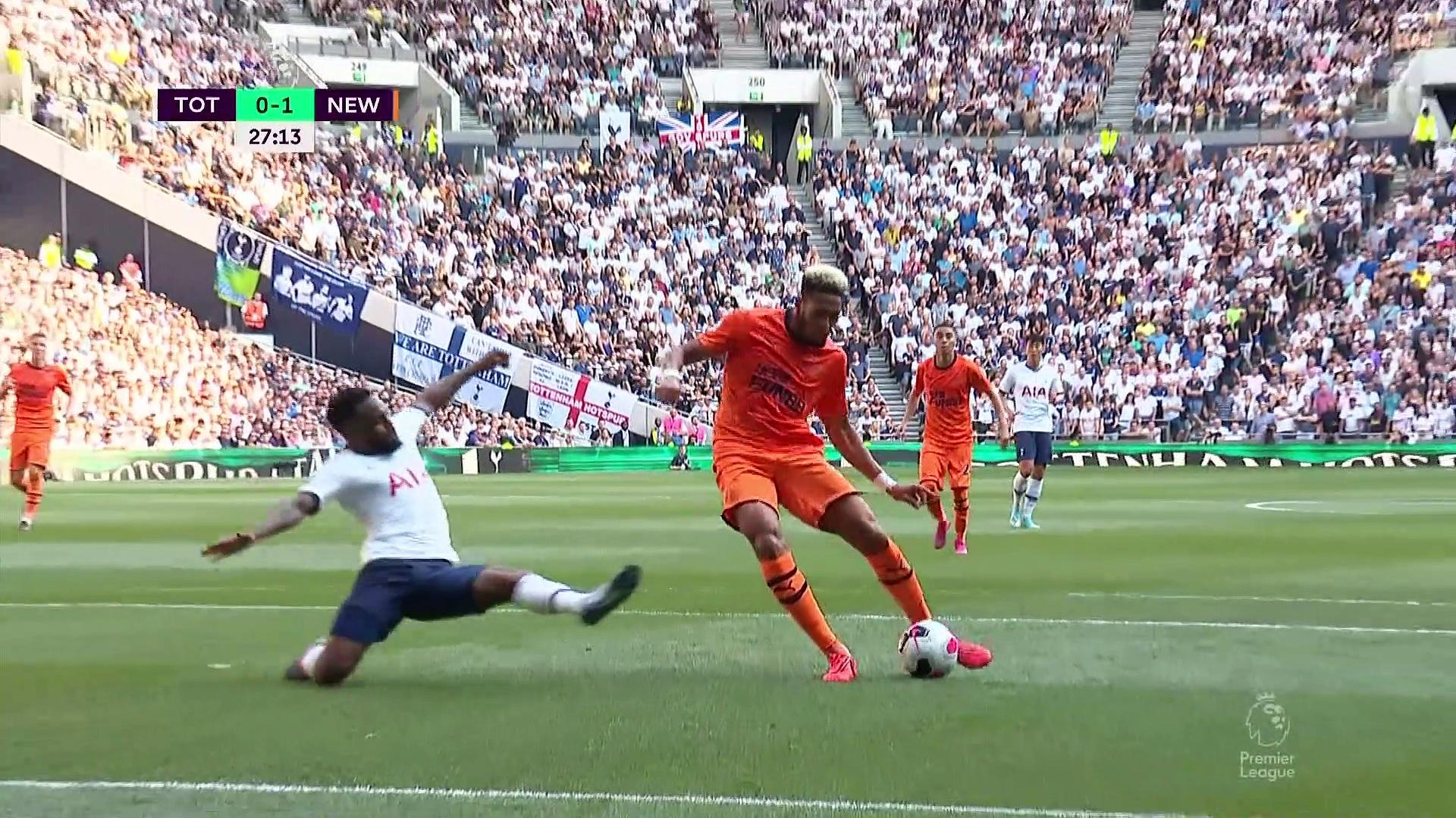 3. Hafta / Tottenham - Newcastle United : 0-1 (Özet)