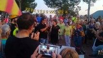 Txell Bonet agraeix la solidaritat als Lledoners