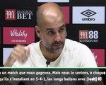 """FOOTBALL: Premier League: 3e j. - Guardiola : """"Quelques choses à améliorer"""""""