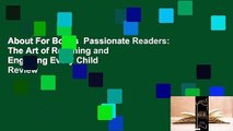 About For Books  Passionate Readers: The Art of Reaching and Engaging Every Child  Review