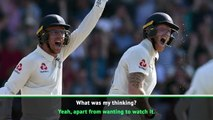Stokes can play for us next week! - Bruce enjoyed Ashes victory
