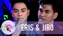 Eris and Jiro prove that they can emote through a hysterical challenge | GGV