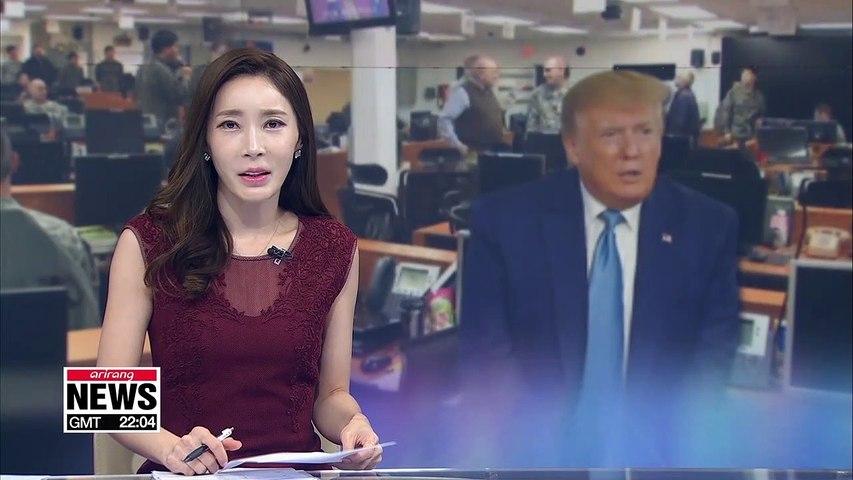 Trump calls S. Korea-U.S. joint military drills
