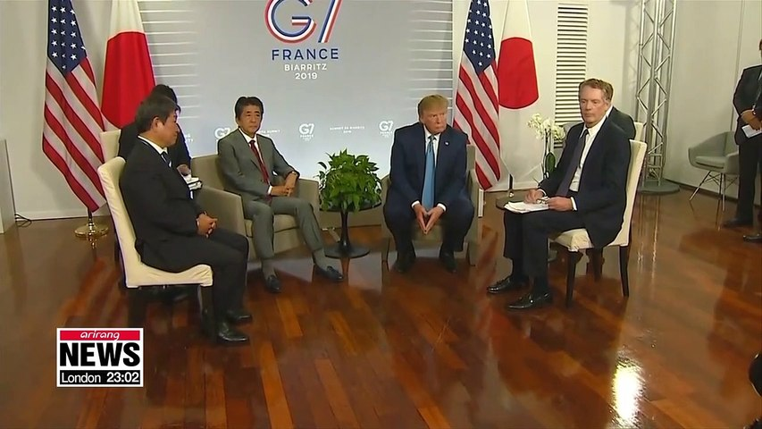 Trump, Abe at odds over seriousness of N. Korea's missile launches