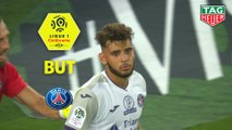 But Mathieu GONCALVES (54ème csc) / Paris Saint-Germain - Toulouse FC - (4-0) - (PARIS-TFC) / 2019-20