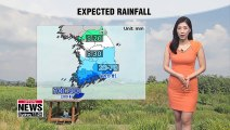 Rain down south, wide temperature differences 082619