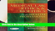 Medical Law, Ethics,   Bioethics for the Health Professions  Best Sellers Rank : #3