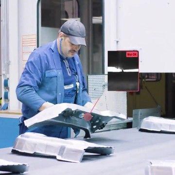 Artificial intelligence eliminates pseudo-defects at crack control, BMW Group Press Plant Dingolfing