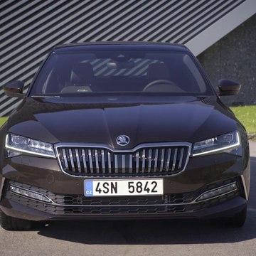 Škoda Superb Laurin & Klement Design Preview