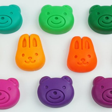 Learn Animals and Vehicles with Modelling Clay Play-Doh Fun and Creative Toddler Learning Video