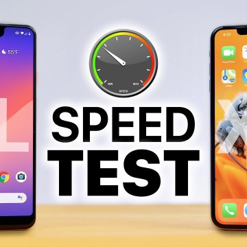Pixel 3 XL vs iPhone XS Max SPEED Test-