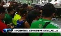 Polisi Kejar Pengemudi Rubicon Viral Saat Lomba Lari