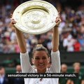 Halep thwarts Serena history bid with Wimbledon final triumph