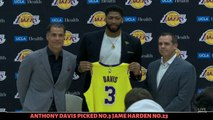 [BREAKING NEWS] LAKERS introduce Anthony Davis finally he pick No.3 LeBron James. No.23