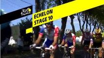 Bordures / Echelon - Étape 10 / Stage 10 - Tour de France 2019