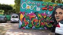 Tennis - petite visite du village du Grand Est Open 88 de Contrexéville