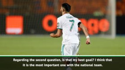 Our goal is to make our people proud - Mahrez