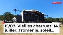 Le Tour de Bretagne en 5 infos - 15/07/19