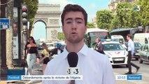 Paris : après la victoire de l'Algérie, 50 personnes interpellées