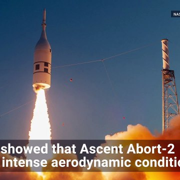 Watch as Camera Captures Orion's Abort Test in Mid-Air