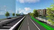 Le projet de raccordement de la Voie Mathis à l'A8 à Nice