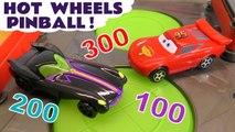 Hot Wheels Pinball with Disney Pixar Cars 3 Lightning McQueen vs Transformers Bumblebee & Marvel Avengers 4 Endgame Thanos Full Episode English