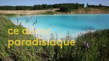 Russie : un lac aux allures de plage paradisiaque s'avère être une décharge industrielle