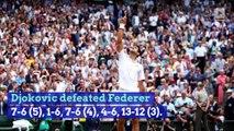 Novak Djokovic Defeats Roger Federer in Five-Set Wimbledon Final