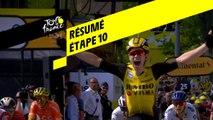 Résumé - Étape 10 - Tour de France 2019