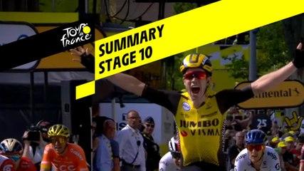 Summary - Stage 10 - Tour de France 2019
