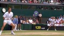 Nicolas Mahut se prend la balle 3 fois (Wimbledon)