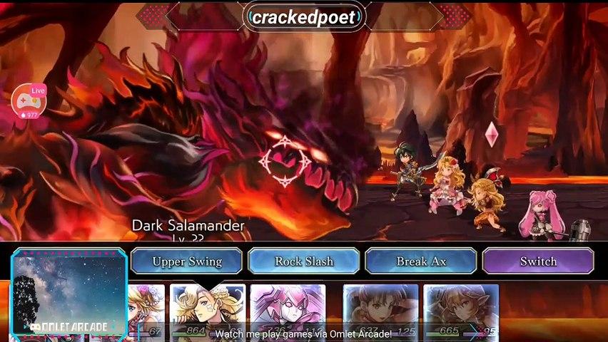 ANOTHER EDEN Salamander Boss Battle