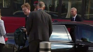 Jeremy Hunt arrives for final leadership debate