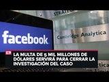 Multan a Facebook por filtración de datos