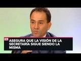 Arturo Herrera habla de los cambios en la Secretaría de Hacienda