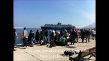 Refugees on Samos