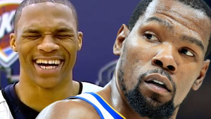 Russell Westbrook RUTHLESSLY Laughs At Joke About Kevin Durant!