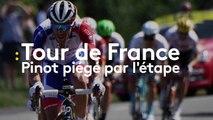 Tour de France - Pinot piégé par l'étape