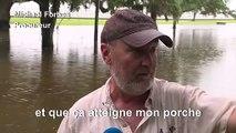 Inondations en Louisiane après le passage de l'ouragan Barry