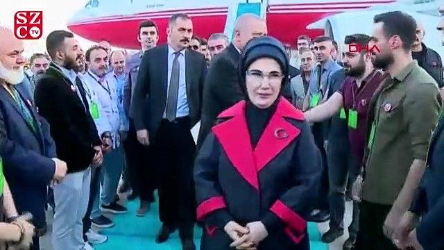 İmamoğlu, Erdoğan'ı protokolde karşıladı