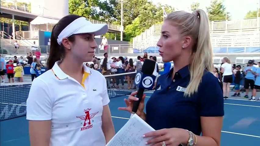 7/14/2019: San Diego vs. New York: Christina McHale interview