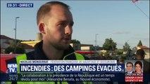 """Argelès-sur-Mer: """"l'incendie est pris en compte, il n'y a plus de danger pour la soirée"""" (Secouriste)"""
