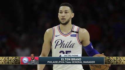 The Jim Rome Show: Elton Brand talks Ben Simmons shot improvement